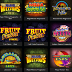 Games offered by the casino