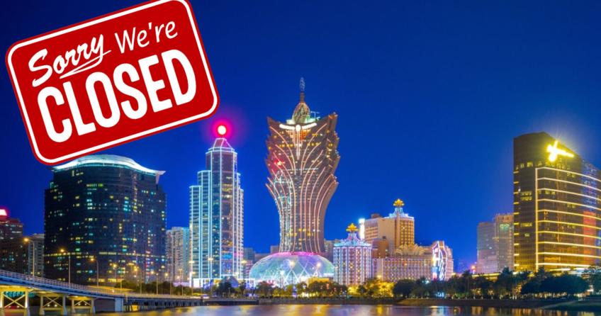 Macau casinos shutdown
