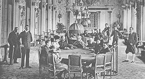 History of online baccarat